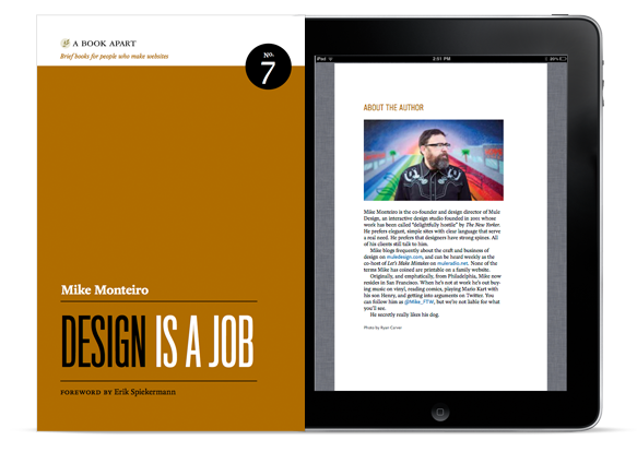 Design is a Job by Mike Monteiro book cover