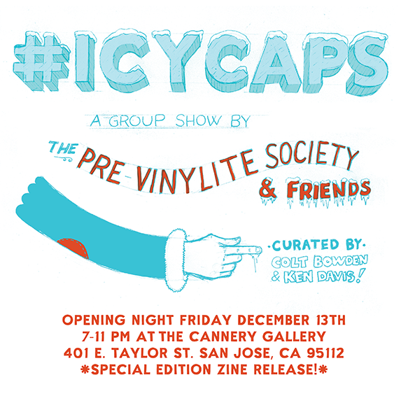 #icycaps by the Pre Vinylite Society